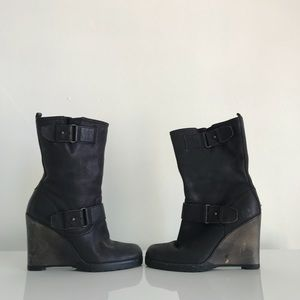 Halogen Jeannie Wedge Boots